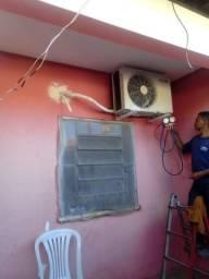 Profissionais p/ realizar sua instalação ou limpeza split
