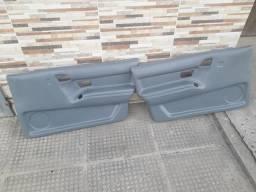 Par forro de porta Santana 91 a 97 Diamteiro 2P Cinza - 1995