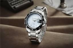 3344f94711d Relógio Masculino Militar Esporte 100% Aço Inox Importado Premium