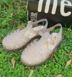 Combo 2 sandálias infantil Melissa original