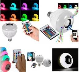Jogo de luz com Bluetooth com controle