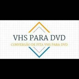 Passe suas fitas VHs para DVD