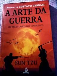 Livro tático militar do mestre em estratégia Sun tzu