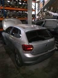 Sucata Volkswagen Polo MSI Flex 2019 para retirada de peças