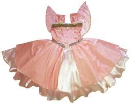 Fantasia Fadinha Vestido Infantil Menina Princesa Luxo