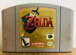 Fita Nintendo 64: Zelda Ocarina Of Time (original)