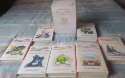 Box O mundo mágico de Harry Potter (7 livros-capa branca)