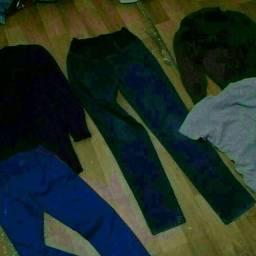 Lote de 250 roupas boas pra brecho