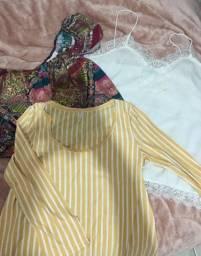 4 blusinhas verão