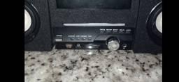 Rádio com DVD