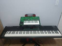 Roland System-1 com Piano Kurzweil SP88x- Set matador para qlq musico!
