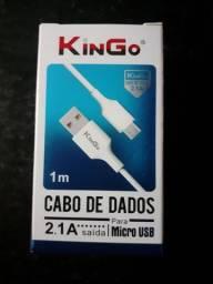 Cabo de dados Micro USB e iPhone