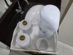 Kit higiene completo em louça