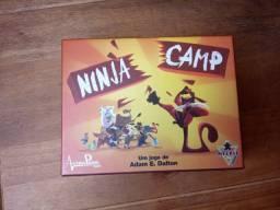 Jogo de Tabuleiro - Ninja Camp