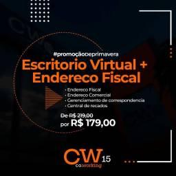 Escritório Virtual + Endereço Fiscal