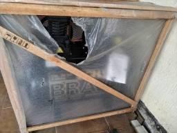 Compressor Bravo schulz CSL 10 BR trifasico Novo na caixa