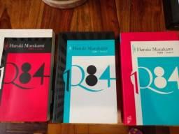 1Q84 trilogia - Haruki Murakami - usado
