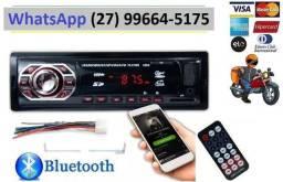 Radio Automotivo Com Bluetooth Pendrive Sd Rádio Aparelho De Som de Carro