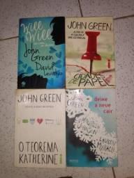 Vendo 4 livros John Green