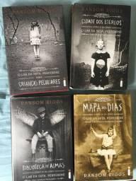 Livros - coleção crianças peculiares