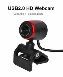 Webcam câmera com microfone para computador digital hd câmera de vídeo