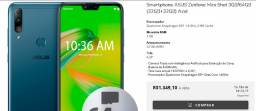 Celular Smartphone Asus Zenfone Max Shot 3GB/64GB (32GB+32GB) Azul