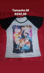 Camisa BTS