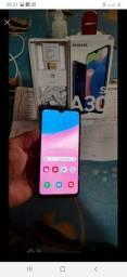 Samsung A30S 64GB sem novo