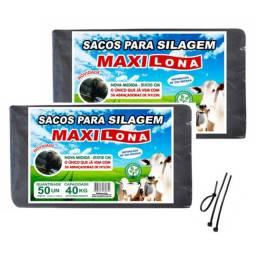 Sacos para Silagem 51x110 - 200 Micras C/50 Unidades