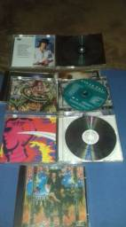 CDs Steve Vai, Jonhy Winther, Joe Satriani,Esteven Ray Vougham