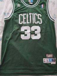 Camisa NBA Adidas Retro Boston Celtics - Larry Bird - G