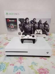 Xbox one s 1tb semi novo com garantia