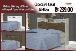 Cabiceira Casal Melissa, Entrega em 3 dias