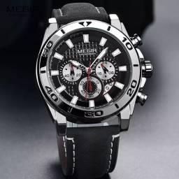 Relógio original Multifuncional Megir.