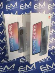 Xiaomi Redmi Note 9S 64GB Preto - Novo - Loja Centro de Niterói