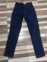 Bermuda e calça jeans