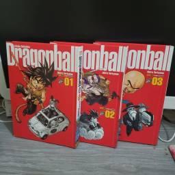 Dragon ball edição definitiva vol. 1, 2 e 3