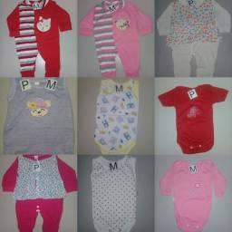 Combo kit roupa de bebê tudo por 120