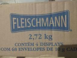 Caixa de fermento fleischmann