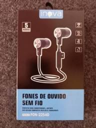 Fone Bluetooth Inova Pega Cartão MicroSD
