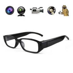 Óculos Espião Qualidade 1920x1080p ; Imperceptível. Discreto