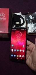 Moto Z3 play 128gb completo na caixa