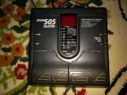 Pedaleira zoom 505 guitar
