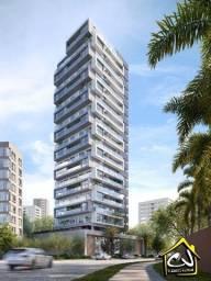 Lançamento c/ 1 Quarto - Praia Grande - Completa Infraestrutura - 1 Vaga