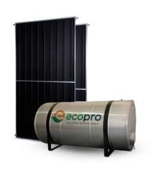 Reservatório 300 Litros baixa pressão Aço 304   02 Placas Solar 150X100
