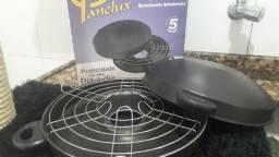 Churrasqueira de fogão semi nova Panelux Grill 60, *
