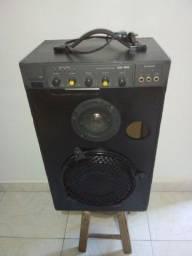 Vendo caixa de som amplificada frahm modelo cr_150