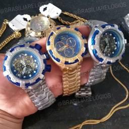 Relógio INVICTA BOLT - Prata e Dourado!