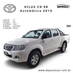 Hilux SR 4x2 flex automático 2015