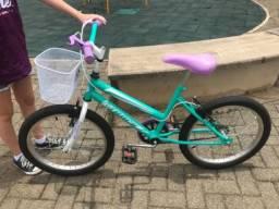 Bicicleta semi nova aro 20